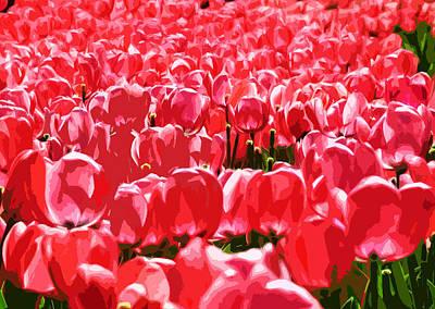 Amsterdam Tulips Original by Phill Petrovic