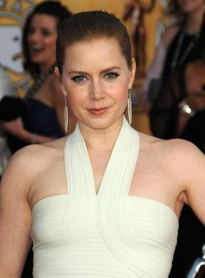 2010s Makeup Photograph - Amy Adams At Arrivals For 17th Annual by Everett