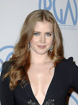 Beverly Hilton Hotel Photograph - Amy Adams In Attendance For 22nd Annual by Everett