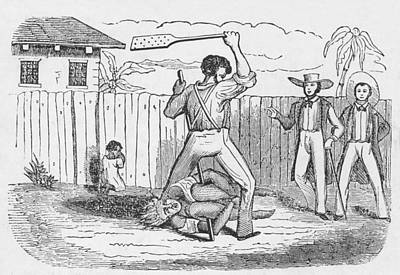 An Abolitionists Image Shows An Print by Everett