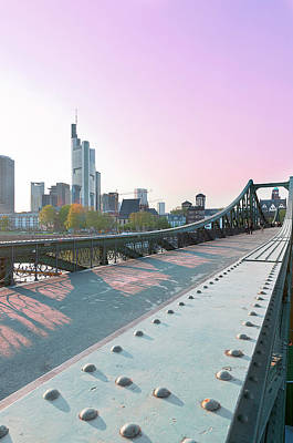 An Evening In Frankfurt. Print by Ixefra