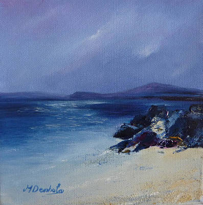 An Iona Beach Print by Margaret Denholm