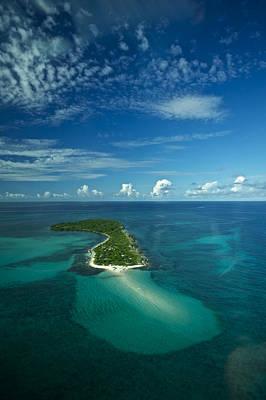 An Island In The Quirimbas Archipelago Print by Jad Davenport