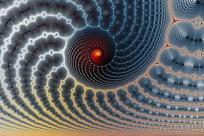 Eggleston Digital Art - An Uncommon Spiral by Mark Eggleston