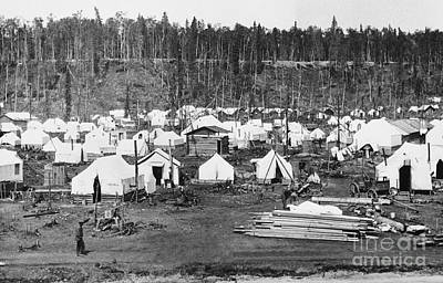 Anchorage, Alaska In 1915 Print by Photo Researchers
