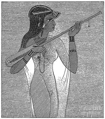 Ancient Egypt: Music Print by Granger