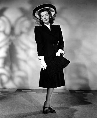 1944 Movies Photograph - And Now Tomorrow, Loretta Young, 1944 by Everett