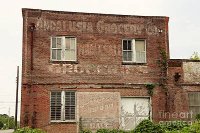 Rustic Photograph - Andalusia Grocery Co by Erin Johnson