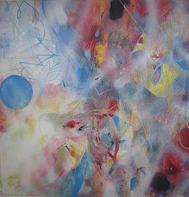 Painting - Angel by Cima Azimi