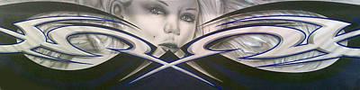 Angel Eyes Print by Mike Royal