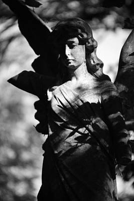 Jez Self Photograph - Angel Of Solitude by Jez C Self