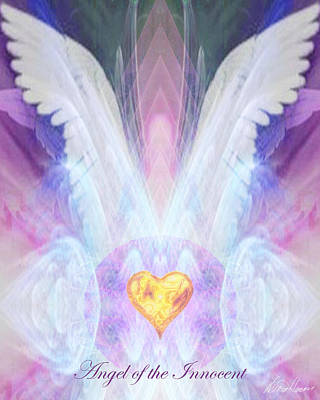 Innocent Angels Digital Art - Angel Of The Innocent by Diana Haronis