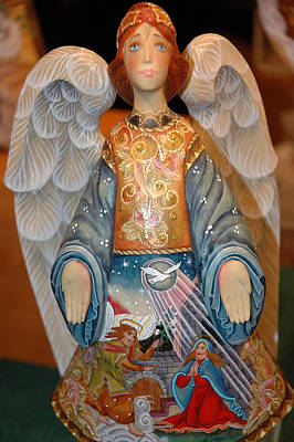 Father Photograph - Angel Of The Lord by LeeAnn McLaneGoetz McLaneGoetzStudioLLCcom