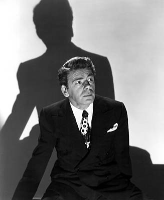 1946 Movies Photograph - Angel On My Shoulder, Paul Muni, 1946 by Everett