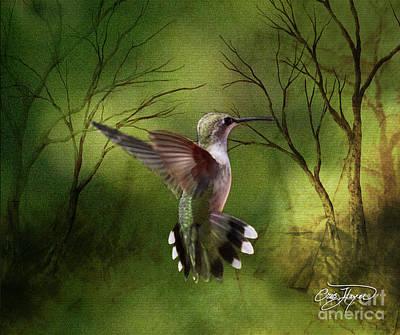 Angel Wings Print by Cris Hayes