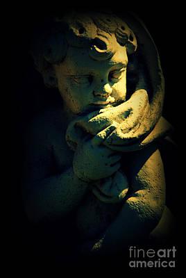 Statue Portrait Photograph - Angela by Susanne Van Hulst