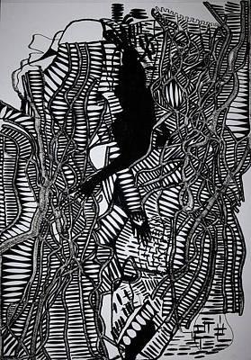Angels Kiss Print by Gloria Ssali