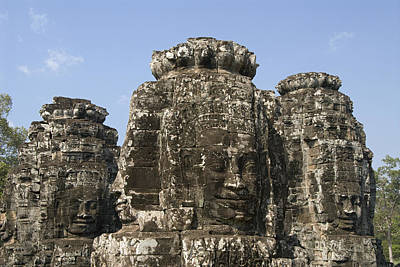 Angkor Thom IIi Print by Gloria & Richard Maschmeyer
