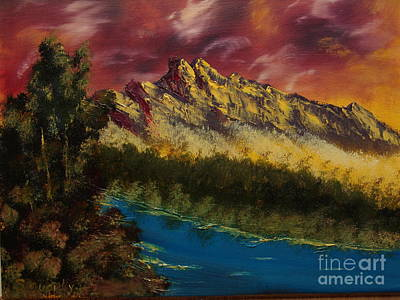 Angry Sky Original by Sandi Murphy