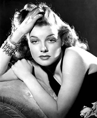 Ann Sheridan, Portrait Used Print by Everett
