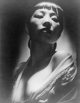Hurrell Photograph - Anna May Wong 1905-1961 by Everett