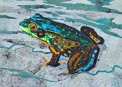 Anna's Frog Original by Alyson Champ
