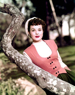 Anne Of The Indies, Jean Peters, 1951 Print by Everett