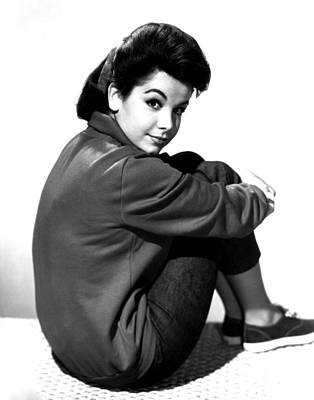 Annette Funicello, Portrait Print by Everett