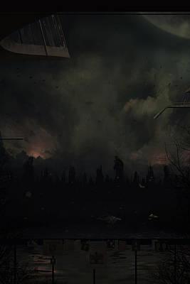 Apocalyptic Digital Art - Annus Horribilis by Martin Bland