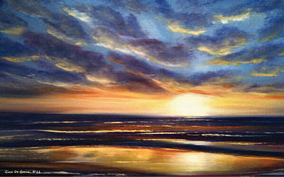 Another Sunset In Paradise 22 Print by Gina De Gorna