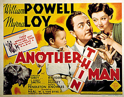 Another Thin Man, Asta, William A Print by Everett