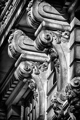 Ansonia Building Detail 18 Print by Val Black Russian Tourchin