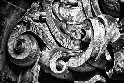 Black Russian Studio Photograph - Ansonia Building Detail 23 by Val Black Russian Tourchin