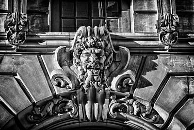 Ansonia Building Detail 3 Print by Val Black Russian Tourchin