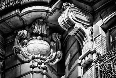 Ansonia Building Detail 39 Print by Val Black Russian Tourchin
