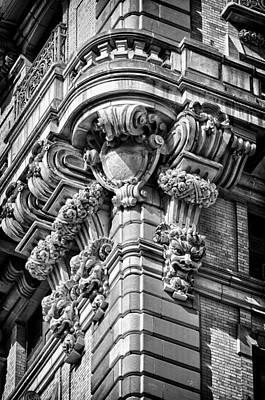 Black Russian Studio Photograph - Ansonia Building Detail 40 by Val Black Russian Tourchin
