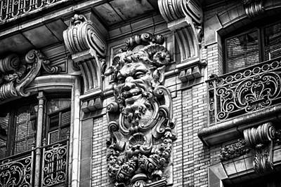 Ansonia Building Detail 44 Print by Val Black Russian Tourchin