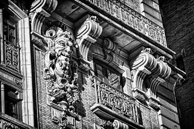 Ansonia Building Detail 6 Print by Val Black Russian Tourchin