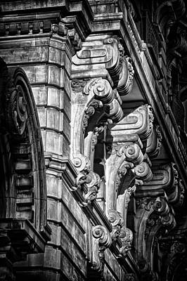 Ansonia Building Detail 7 Print by Val Black Russian Tourchin