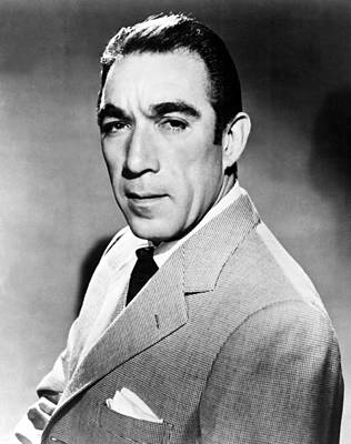 Anthony Quinn, United Artists Publicity Print by Everett