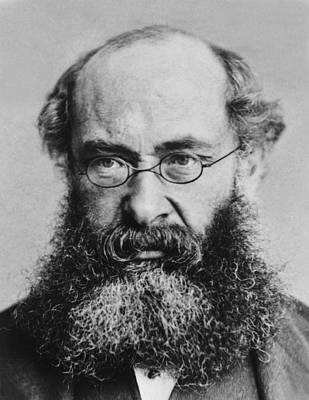 2008-2 Photograph - Anthony Trollope 1815-1882 English by Everett