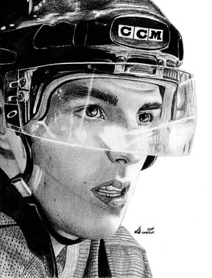 Vancouver Canucks Drawing - Anticipation by Kayleigh Semeniuk
