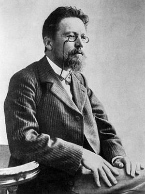 Anton Chekhov, 1901 Print by Everett