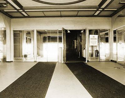 Apex Theater Lobby Original by Jan Faul