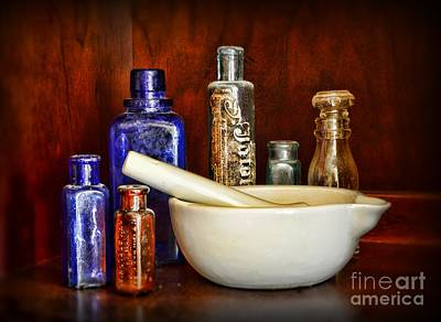 Apothecary - Tools Of The Trade Print by Paul Ward