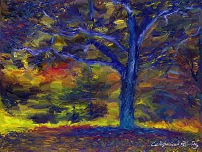 Apple Tree Print by Nikolay Vakatov