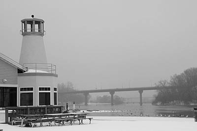 Appleton Yacht Club Photograph - Appleton Yacht Club by Joel Witmeyer
