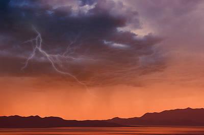Approaching Rain Storm Print by Utah Images
