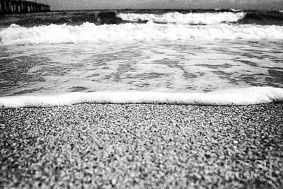 Approaching Wave - Black And White Print by Hideaki Sakurai