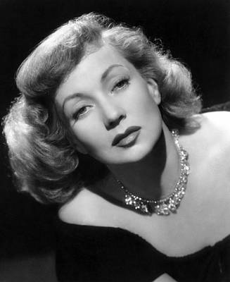 Diamond Necklace Photograph - April Showers, Ann Sothern, 1948 by Everett